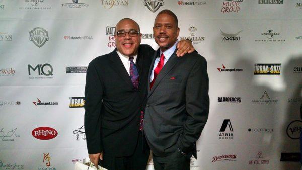 Skip Dillard (WBLS and WLIB) and Jay Michaels at Living Legends Dinner