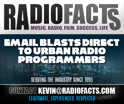RadioFacts Email Blasts, Music Direct to Radio Programmers 2