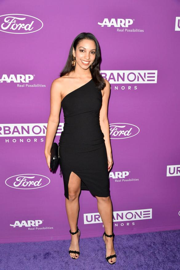 Corinne Foxx at the URBAN ONE HONORS on Thursday, December 5, 2019 in Oxon Hill, MD at the MGM National Harbor.