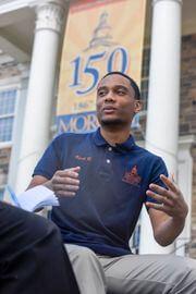 Kurt Kennedy, Morgan State University junion, discusses 2020 election