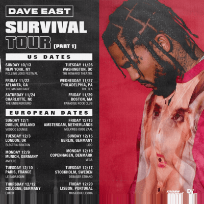 "Dave East ""Survival"" Out Now"