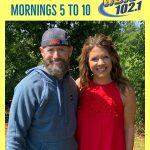 iHeartMedia Huntsville's 102.1 WDRM Welcomes Blair…