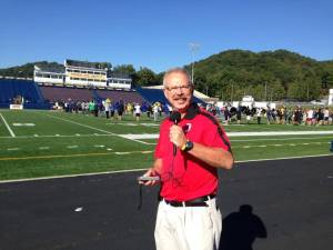 Mark Plemmons is the general manager for RFC and is the play-by-play man for Davidson College football and baseball. He is also a multi-media journalist for the Independent Tribune.