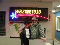 with Deb Lawler, WBZ News in the Cowboy Up! year of '03