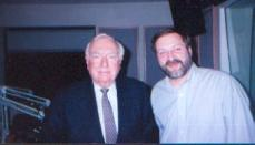 with Walter Cronkite