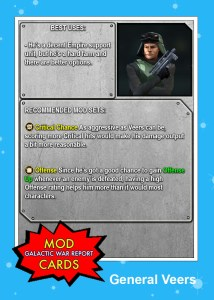 General Veers MOD CARD