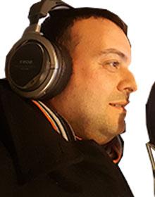 Claudio Tatananni a Radio Gamma Stereo