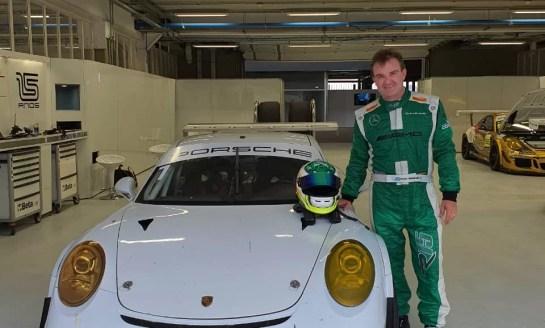 Porsche: primeiros testes animam Raijan
