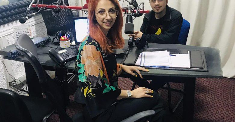 Tarik Dzinić u studiju Radio Gračanice.