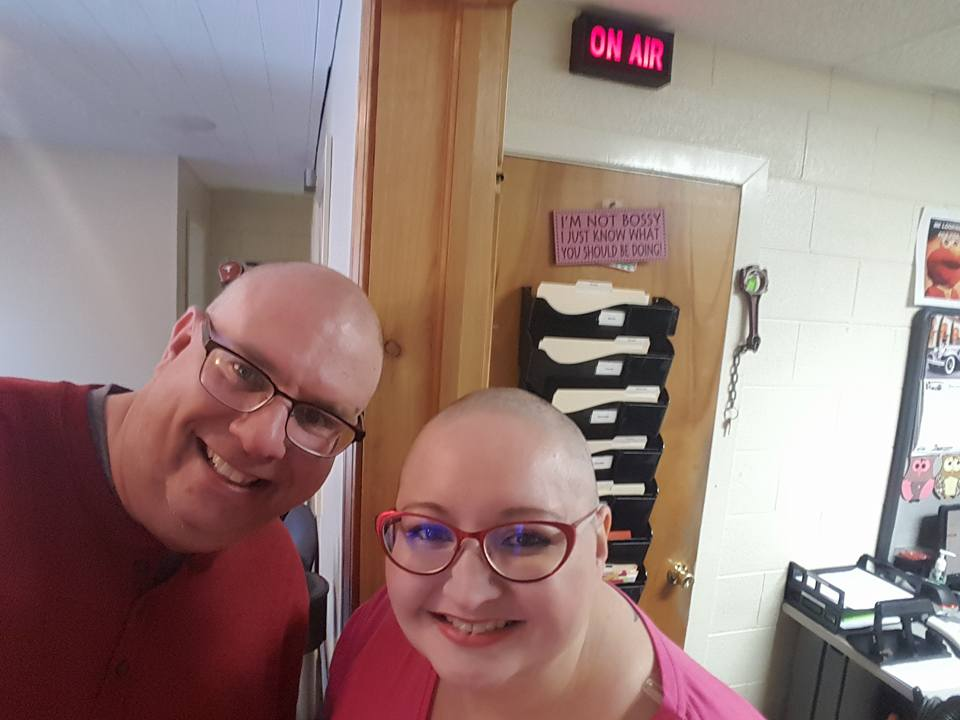 Shaved Heads for a Cause