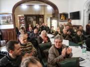 """Intâlnirile cenaclului """"Mașina cu poeți"""" . Foto credit: Nicolae Hauca"""