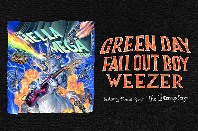 Listen To Win Hella Mega Tour Tickets ft. Green Day, Fall ...