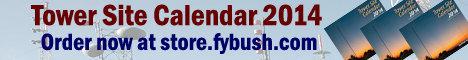 Scott Fybush 2014 Tower Site Calendar
