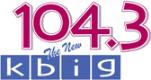 KBIG 104.3 Current Logo