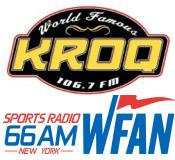 CBS Radio 106.7 KROQ 660 66 WFAN 103.7 Sophie 95.1 KFRG