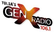 KTGX Kool 106.1 KQLL Tulsa Christmas 106 GenX GenXTulsa GenXRadio