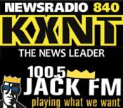 Newsradio 100.5 KXNT 840 Jack JackFM FM KKJJ CBS Radio Las Vegas
