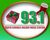 Christmas Radio Santa Holiday Music 93.1 Miami 105.7 Albany 94.3 Winnipeg 97.5 Phoenix