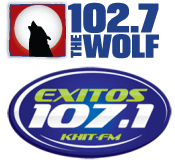 Big Country 102.7 The Wolf KHGE Fresno Exitos 107.1 KHIT KHits K-Hits