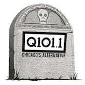 Q101 WKQX 101.9 WRXP Sign Off Farewell End Change Goodbye Chris Payne Local 101 Chicago New York Emmis Merlin