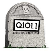 Q101 WKQX 101.9 WRXP Sign Off Farewell End Change Goodbye Chris Payne Local 101 Chicago New York Emmis Merlin