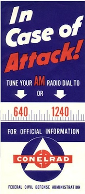 National EAS Test Conelrad Emergency Alert System Broadcast Audio Aircheck Clips