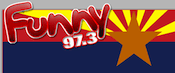 Funny 97.3 KIKO Claypool Globe Phoenix 1700 KKLF KLIF Dallas Legends 570 WQDR Raleigh Durham 24/7 Comedy