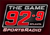 92.9 The Game WZGC Atlanta Kordell Stewart Jaime Carl Dukes Rick Kamla Randy Cross