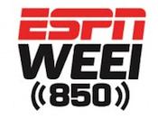 ESPN WEEI 850 Radio Boston Mike Golic Greenberg Colin Cowherd Ryen Russillo Scott Van Pelt 93.7 WEEI-FM Entercom 103.7