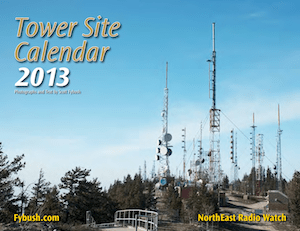 2013 Fybush Northeast Radio Watch Tower Site Of The Week Calendar