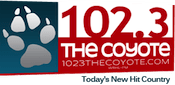 102.3 The Coyote WRHL Sam Sam-FM Rochelle