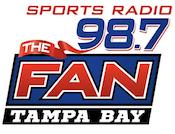 98.7 The Fan WHFS-FM Tampa Jim Rome Todd Wright