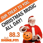 92.1 The Coast WLTQ Venice Sarasota Shine ShineFM 88.3 Indianapolis New Life 91.9 WRCM Charlotte Christmas Music Halloween