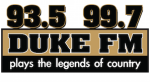 93.5 Duke FM DukeFM WGEE-FM Appleton Green Bay 99.7 WZDR Sturgeon Bay The Drive 94.3 WYDR Midwest Communications