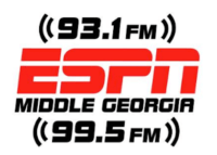 ESPN Middle Georgia Bill Shanks 93.1 Macon 99.5 Warner-Robins 1150 WXKO