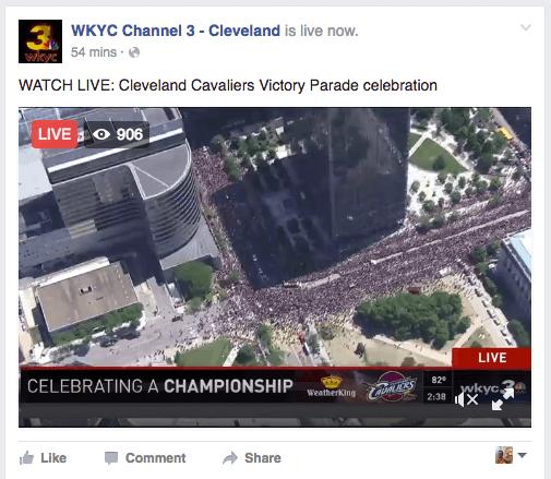 WKYC Cavaliers Parade