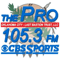 105.3 The Pro KINB Kingfisher Oklahoma City Perry Broadcasting