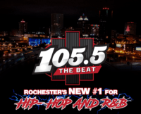 105.5 The Beat W288CS Rochester Mickey Johnson Pamela Anise