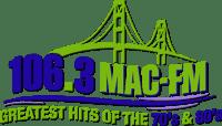 Easy 106.3 Mac-FM WOEZ WWMK Cheboygan Mackinaw Island