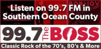 99.7 The Boss WBHX Tuckerton Press Communications 99.3 WZBZ 89.9 WAJM