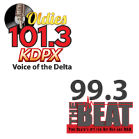Oldies 101.3 KDPX 99.3 The Beat KBPA KHUC Pine Bluff Deltaplex