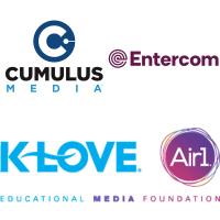 Cumulus Entercom EMF Educational Media Foundation K-Love WPLJ WRQX