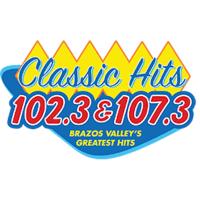 Classic Hits 102.3 107.3 KAPN Radio Alegria 1240 KTAM Bryan College Station
