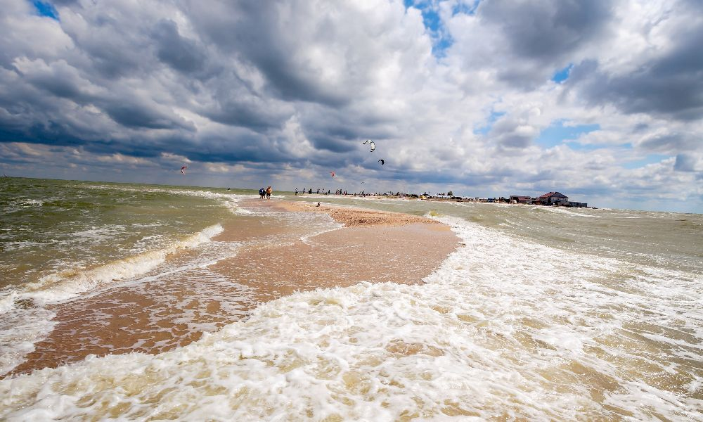 Sea of ​​Azov in Russia