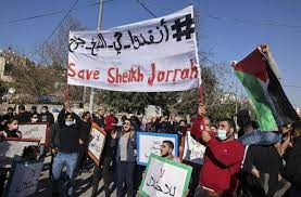 Israeli & Settler Attacks Trying to Frustrate Residents out of their Homes in Sheikh Jarrah