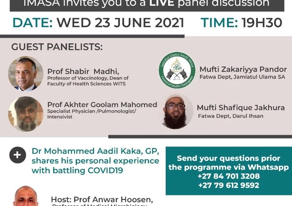 Panel Discussion –  Covid Vaccines