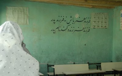 Afghanistan's Low Literacy Rate