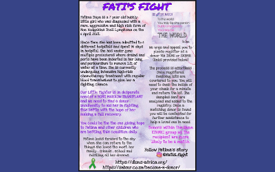 Fati's Fight – The Story Of A Brave and Bubbly Seven Year Old