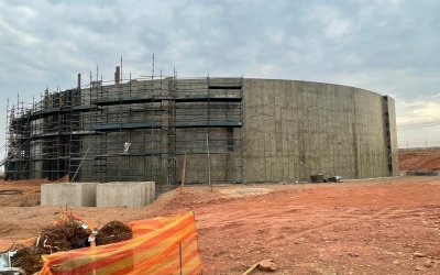 [LISTEN] Jolidee Matongo Inspects New Lenasia South Reservoir which is Expected to Supply Water Without Problems for Next 40 Years