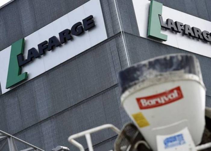 French Industrial Company Lafarge helped finance Daesh